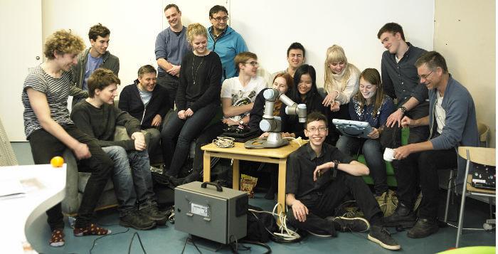 Danmarks første robot landshold
