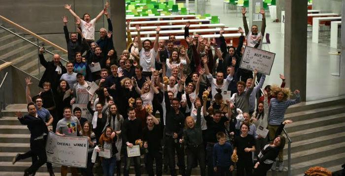 Startup Weekend Health: Man arbejder på en helt anden måde end på kontoret