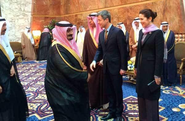 Kronprinseparret promoverer danske virksomheder og grønne tiltag i ørkenstater