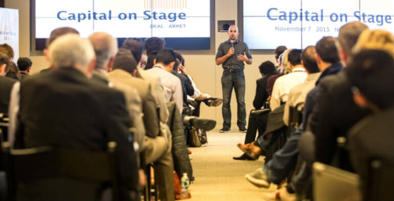 Investorerne skal pitche til Capital on Stage i København