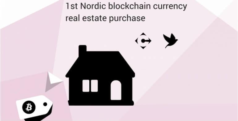 Dansk hus købt med bitcoins
