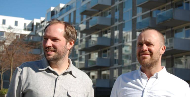 """Stifterne af Amillionmails: """"Vi synes, at det er sjovt at bygge virksomhed"""""""