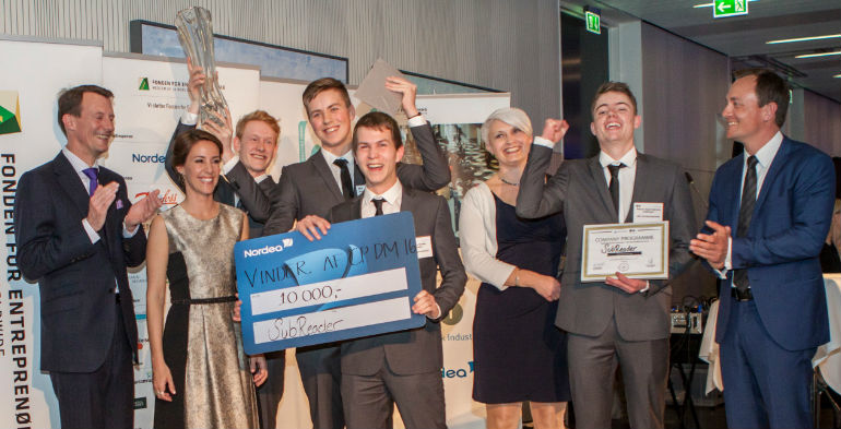 Subreader løb med sejren til DM i Entreprenørskab