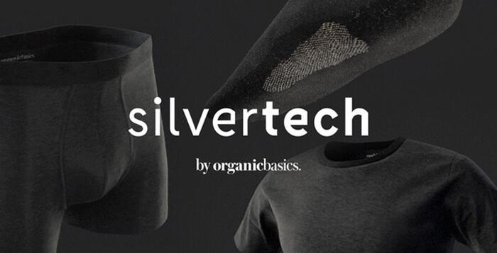 Organic Basics vil spinde guld på lugtfrit sølv-undertøj