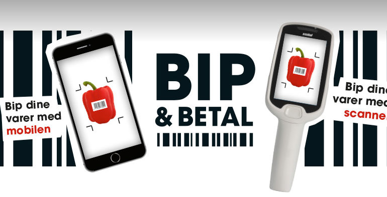 Coop vil afskaffe kø med den nye mobilbetalingsapp Bip & Betal