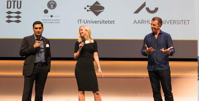 Helbredende kunst og energivenlige batterier til årets Venture Cup Awardshow