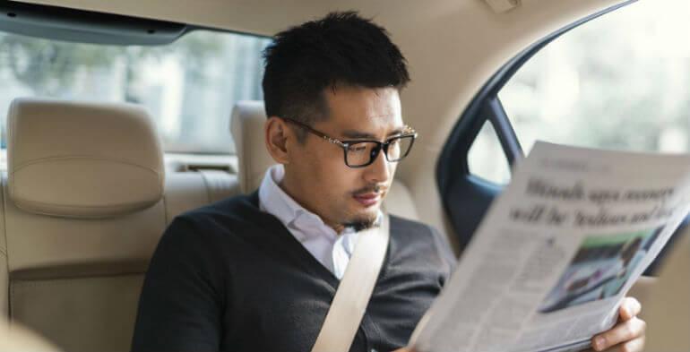 Uber slår sig sammen med kinesisk konkurrent