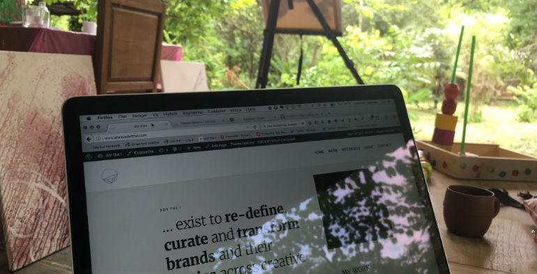 Digital nomade i Thailand med hele familien