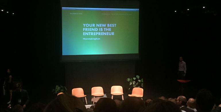 Rainmaking Summit: Første skridt på vejen til et venskab mellem corporate og startup
