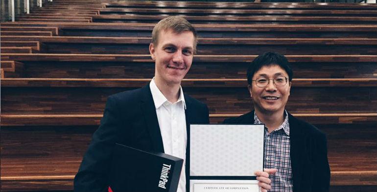 Dansk startup pitchede sig til sejr i Sydkorea