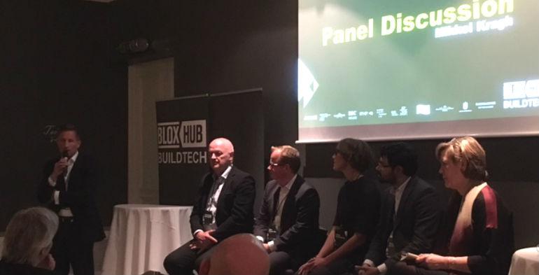 Startups overtog Nimb til BLOXHUB BuildTech Reception