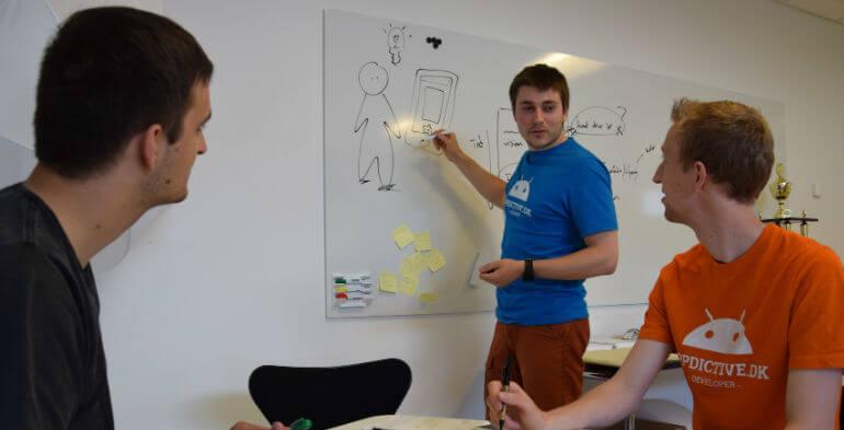 App-nørder gik fra studerede til fuldblods it-virksomhed