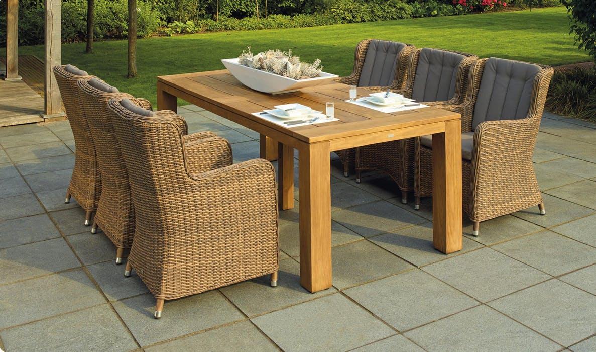 Frisk terrassen op med nye teak havemøbler fra populær webshop