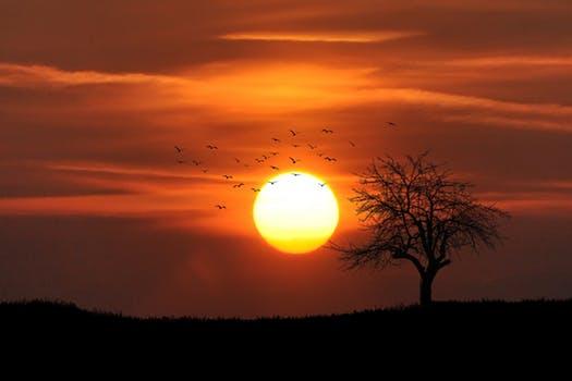 De mest romantiske solnedgange i Europa