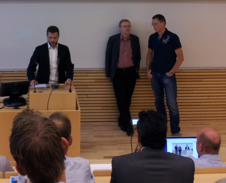 Morten Østergaard og Lars Bak