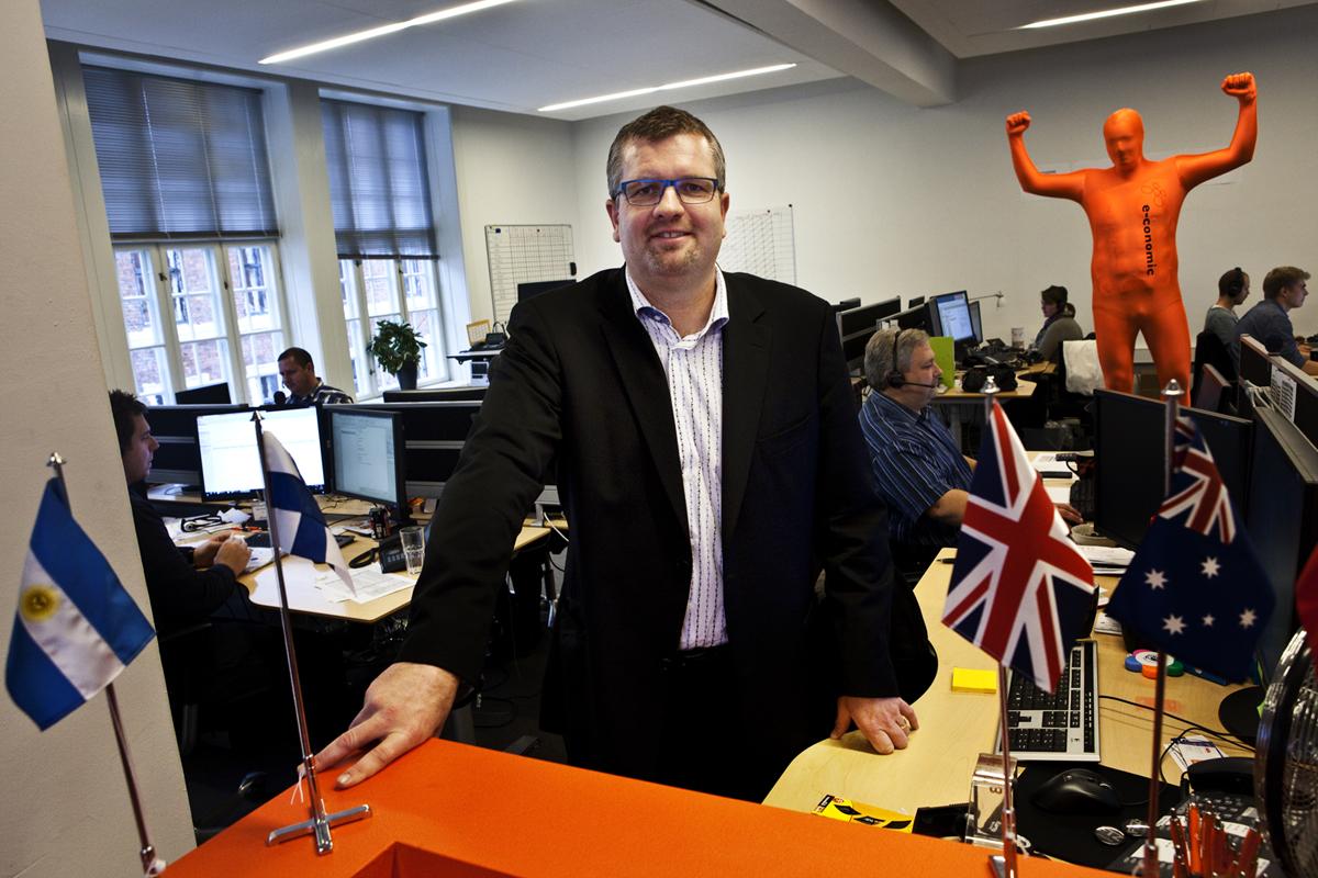 Adm. direktør i e-conomic, Torben Frigaard Rasmussen, er glad for salget af virksomheden, og ser frem til at skabe endnu flere arbejdspladser i samarbejde med kapitalfonden HgCapital. Pressefoto.