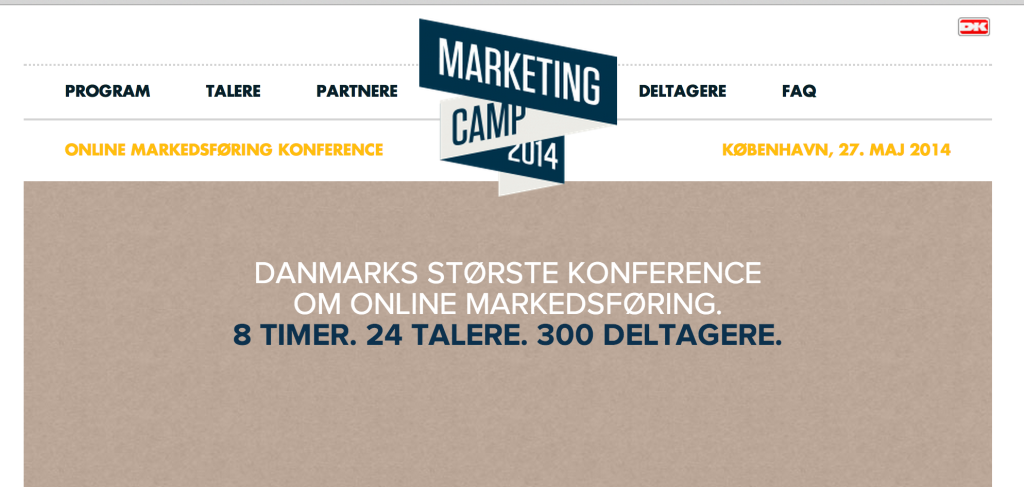 Marketing camp