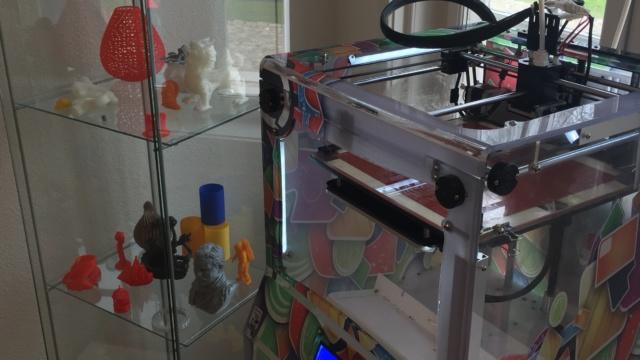 Hos StartupWorks på Aalborghus Slot er et helt rum med 3D-printere. Slottet går efter de tech- og digitalinteresserede startups.