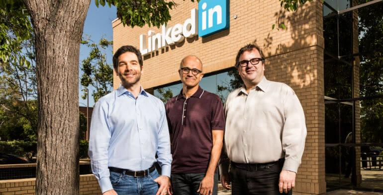 Microsoft, Linkedin, giganthandel
