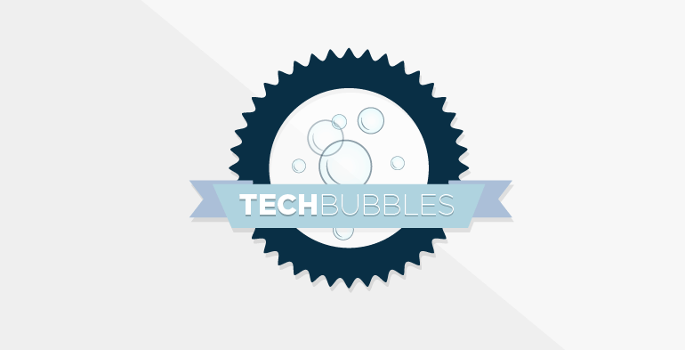 TechBubbles, champagne