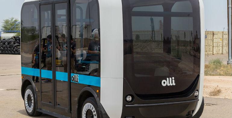 Selvkørende bil, Olli, Autonomous