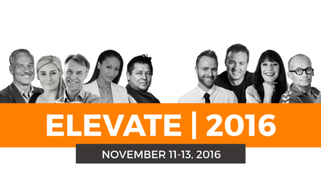 Elevate 2016, personlig udvikling