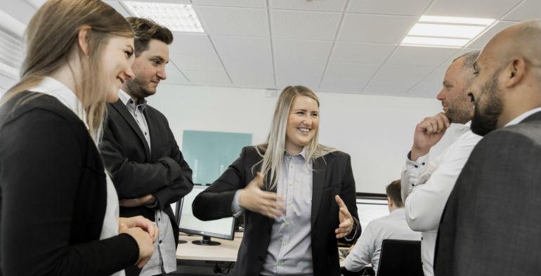 Learningbank, Stine Schulz, medarbejderudvikling