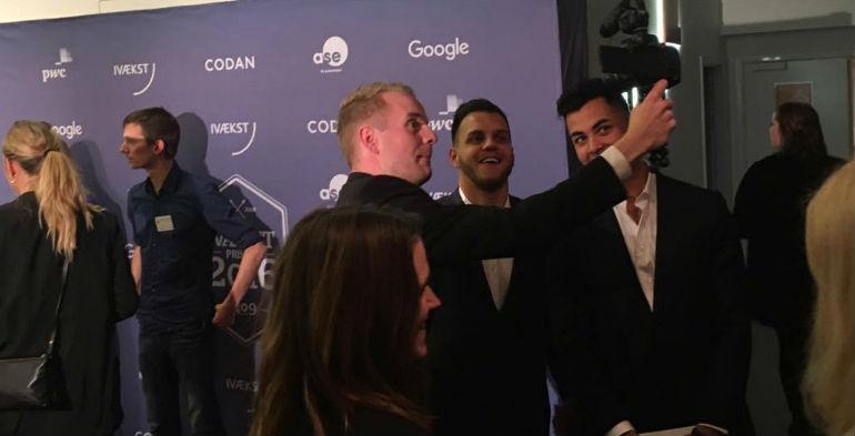 Der blev uddelt krammere, netværket og taget selfies til Ivækstprisen onsdag aften.
