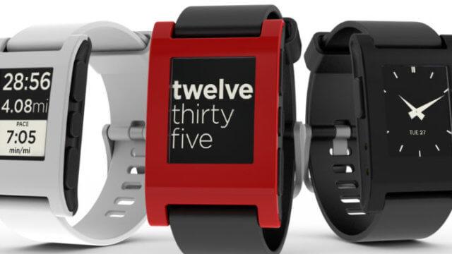 Pebble, Smartwatch